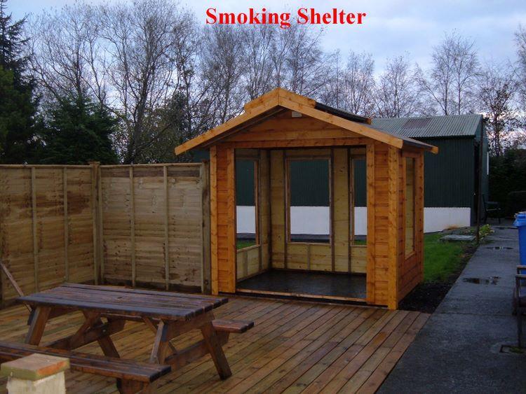 Smoking Shelters Product : Smoking shelters gazebo o brien timber products ltd ireland